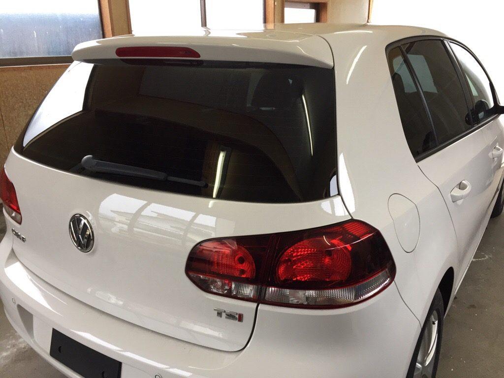 《出張》Volkswagen Golf Ⅵ TSI カーフィルム施工。