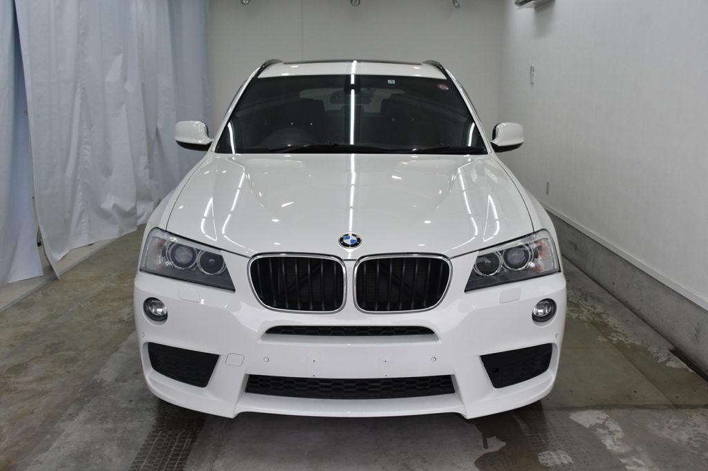BMW X3 洗浄前
